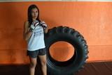 Após descanso, Fabrina Gladiadora volta aos treinos para o Fight Team