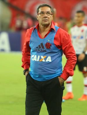 Vanderlei Luxemburgo - técnico do Flamengo - América-RN x Flamengo (Foto: Alexandre Lago/GloboEsporte.com)