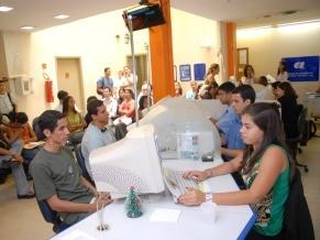 O CIEE também realiza a triagem dos candidatos para as empresas (Foto: Divulgação)