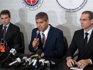 Detidos por sequestro de juíza e promotora confessam crime, diz SSP (Foto: Ruan Melo/ G1)