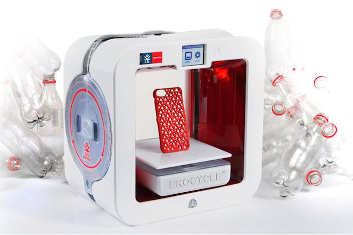 Impressora 3D ecologicamente correta usa material reciclável (Foto: Reprodução/3D Systems)