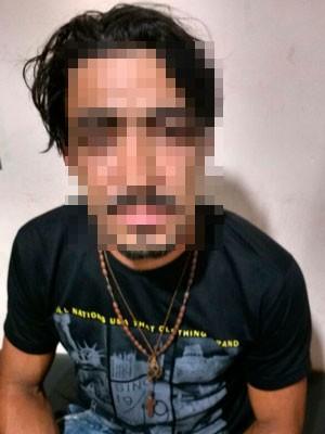 Homem foi preso pela morte mais de um mês após fugir  (Foto: Divulgação/ Polícia Civil)