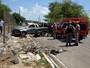 Motorista perde o controle e carro capota, deixando feridos em Olinda