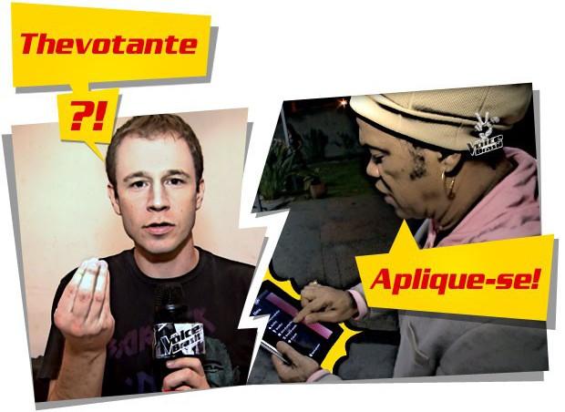 Chamada Brown Leifert App 620 (Foto: The Voice Brasil)