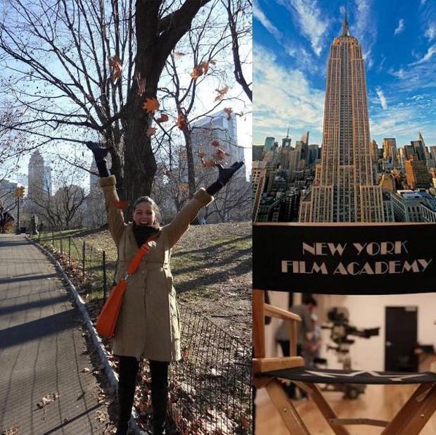 Luma Costa em Nova York (Foto: Reprodução/Instagram)