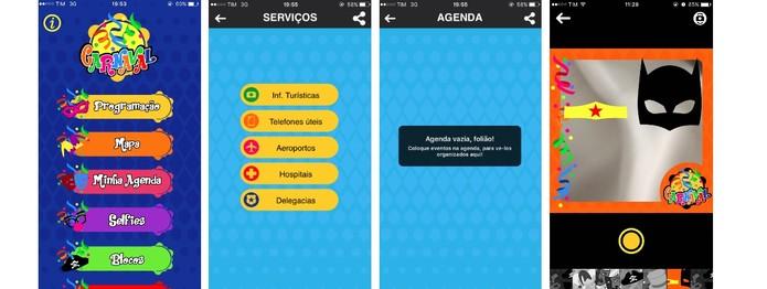 Faça sua programação no Rio e tire diversas selfies com o app (Foto: Reprodução/Camila Peres)