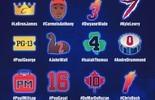 NBA divulga emojis de todos os atletas que vão jogar o All-Star Game (Reprodução/Twitter)