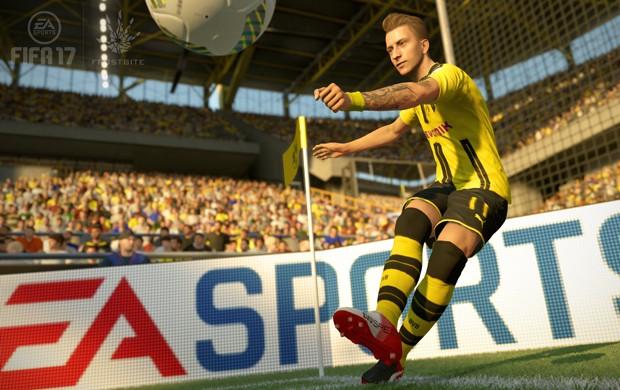 'Fifa 17' também usa nova tecnologia chamada Frostbite, a mesma da série 'Battlefield' (Foto: Divulgação/EA Sports)