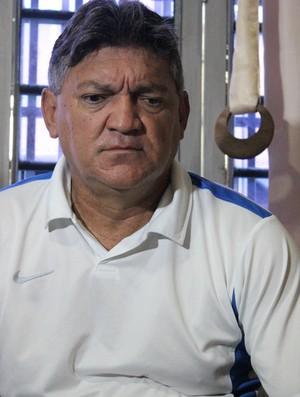 Aníbal Lemos, ex-treinador do River-PI (Foto: Wenner Tito)