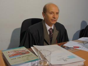 Juiz Alberto Quaresma remarcou júri para 2013. (Foto: Taiguara Rangel/G1)
