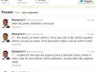 Romário chama Pelé de 'Boçal' no Twitter