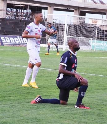 Tony Love, novo contratado do São Raimundo, marcou cinco gols no Parazão (Foto: Dominique Cavaleiro/GloboEsporte.com)