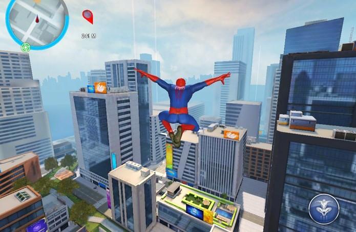 Novo jogo do Homem-Aranha oferece experiência quase idêntica ao anterior (Foto: Reprodução / Dario Coutinho)