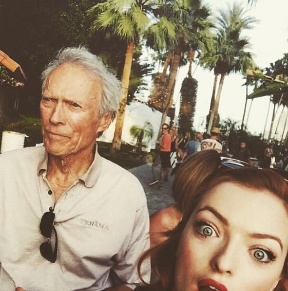 Clint e Francesca Eastwood (Foto: Instagram)