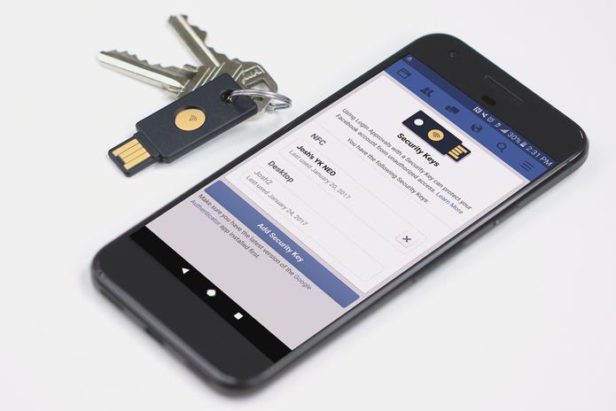 Facebook Fica Mais Seguro Com Chave De Segurança Física Entenda