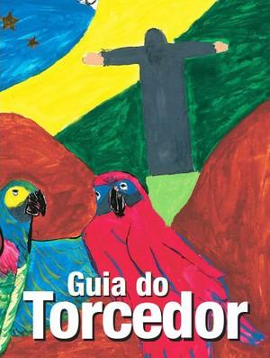 Capa do manual que será distribuído aos torcedores do Corinthians no Japão (Foto: reprodução)