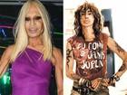 Serguei é comparado a Donatella Versace: 'Sou mais bonito e sexy'