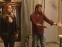 Felipe leva móveis para casa de Lenita e ela detesta: 'Preferia um rinoceronte'