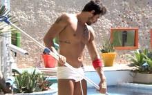 Diego deixa a mulherada babando na sunga (Big Brother Brasil)