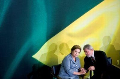 Dilma e Lula (Foto: Sérgio Amaral)