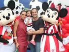Caio Ribeiro festeja aniversário do filho