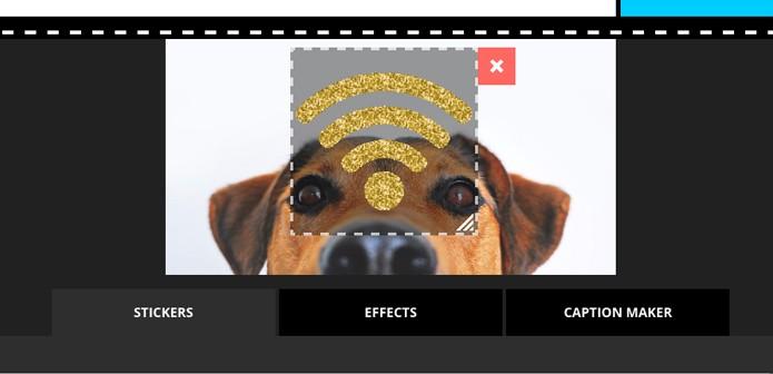 Edite o gif inserido (Foto: Reprodução/André Sugai)