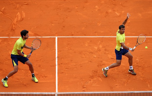 Marcelo Melo Ivan Dodig tenis monte carlo (Foto: Getty Images)