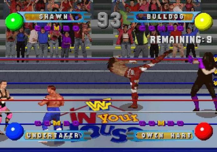 Shawn Michaels brilhando no ringue (Foto: Reprodução/Gamefaqs)