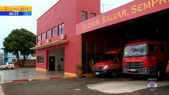 Corpo de Bombeiros de São Luiz Gonzaga terá serviço suspenso