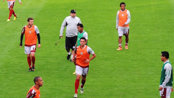 figueirense treino losango (Foto: Renan Koerich)
