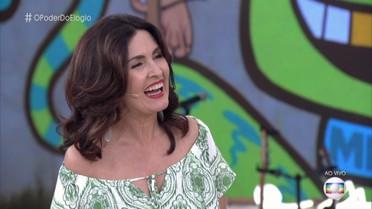 Fátima e Maria Flor confessam timidez ao serem elogiadas