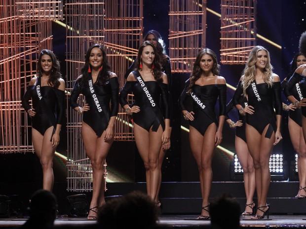 Finalistas do Miss Brsil 2016 (Foto: Celso Tavares / EGO)