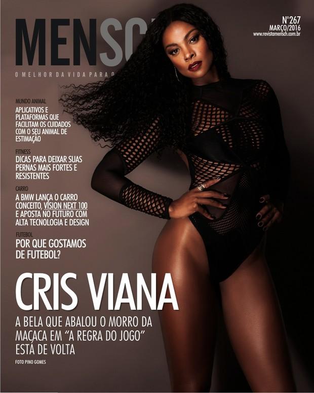 Cris Vianna na revista MENSCH (Foto: Pino Gomes / Divulgação)