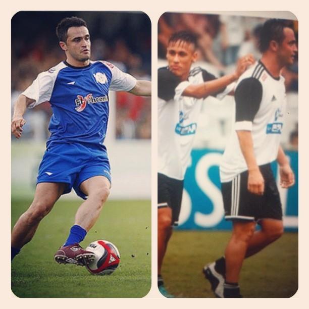 Neymar e Falcão do futsal (Foto: Reprodução  / Instagram)
