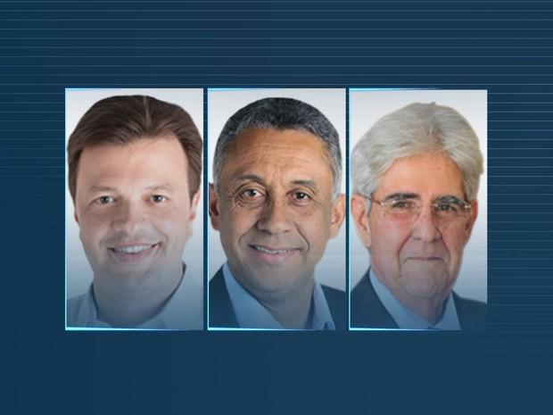 Candidatos Uberlândia (Foto: G1)