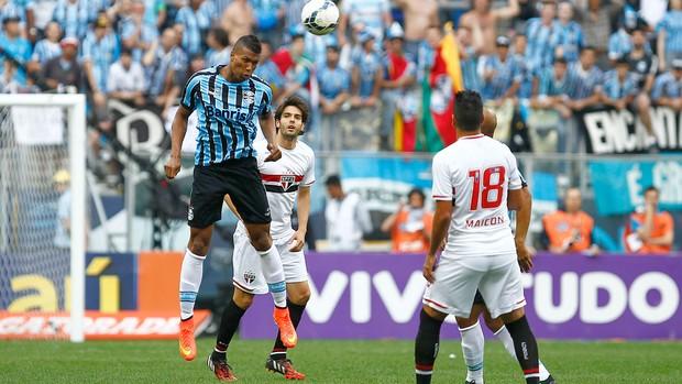 Grêmio X São Paulo (Foto: Lucas Uebel / Grêmio FBPA)