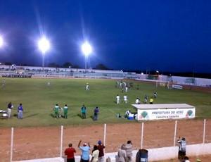Assu x Corintians de Caicó, no Estádio Edgarzão (Foto: Fidel Nunes)