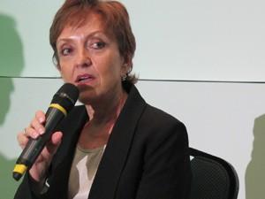 A presidente da Unica, Elizabeth Farina (Foto: Darlan Alvarenga/G1)