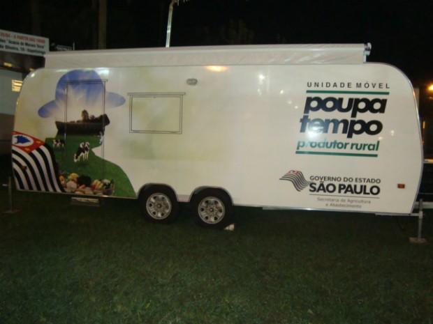 Poupatempo Rural (Foto: Gláucia Souza / G1)
