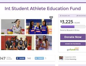 Fundo criado pelo americano Eric Hemming em prol das meninas do Sub-16 (Foto: Reprodução/Internet)
