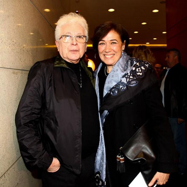 Aguinaldo Silva e Lília Cabral (Foto: Marcos Ribas/Brazil News)