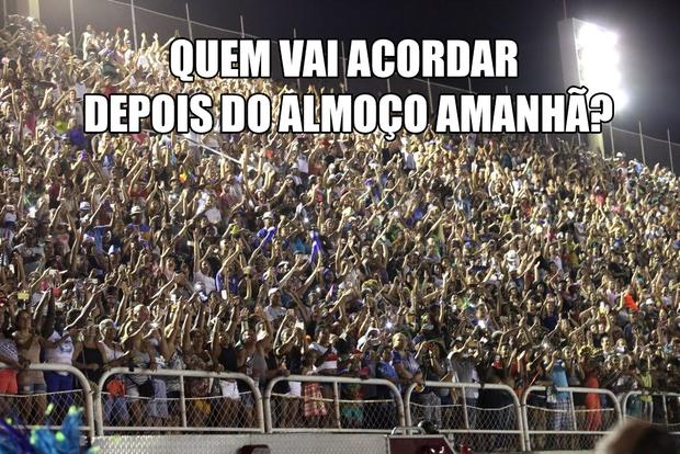 Memes do Desfile das Campeãs (Foto: Brazil News)