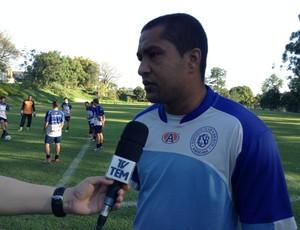 Henal goleiro do São Bento Sorocaba (Foto: Marcus Vinícius Souza)