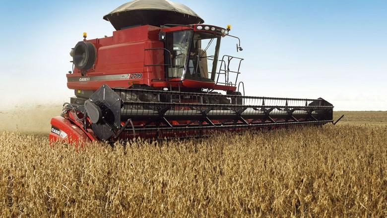 maquinas-agricolas-case-ih-colheitadeira (Foto: Divulgação/Case IH)