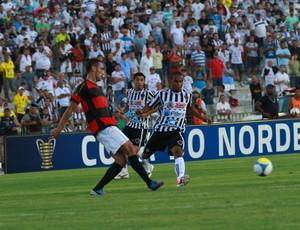 thiaguinho botafogo-pb atacante (Foto: Rizemberg Felipe / Jornal da Paraíba)