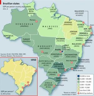 Italordânia é mais adequado que Belíndia, segundo a Economist (Foto: Reprodução/Economist)