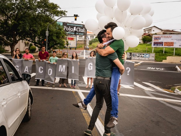 Decorador disse que planejou surpresa em apenas três dias para o namorado (Foto: Mariane Peixoto/ Geovane fotografias)