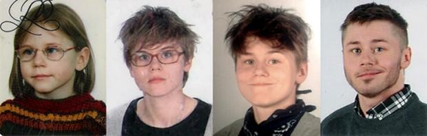 Compare o processo de transformação hormonal do polonês (Foto: Reprodução)