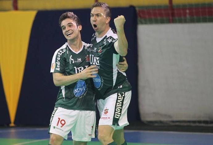 Atlântico Erechim AABB-AC Superliga (Foto: Zerosa Filho/CBFS)