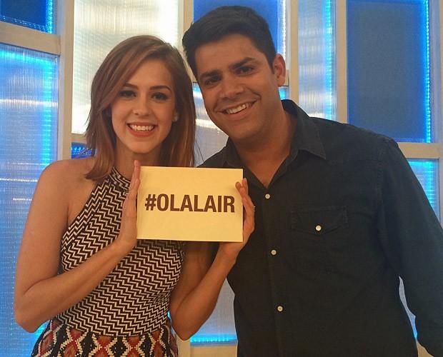 Sophia Abrahão diz que não está disponível no #OláLair com Lair Rennó (Foto: Samir Miguel / Gshow)